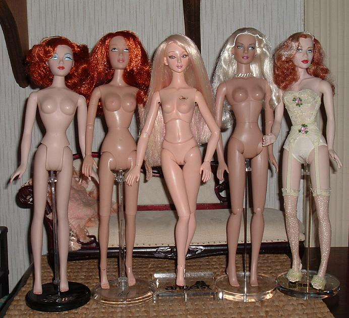 Comparaisons corps fashion dolls: images & liens Angelbodycomparison
