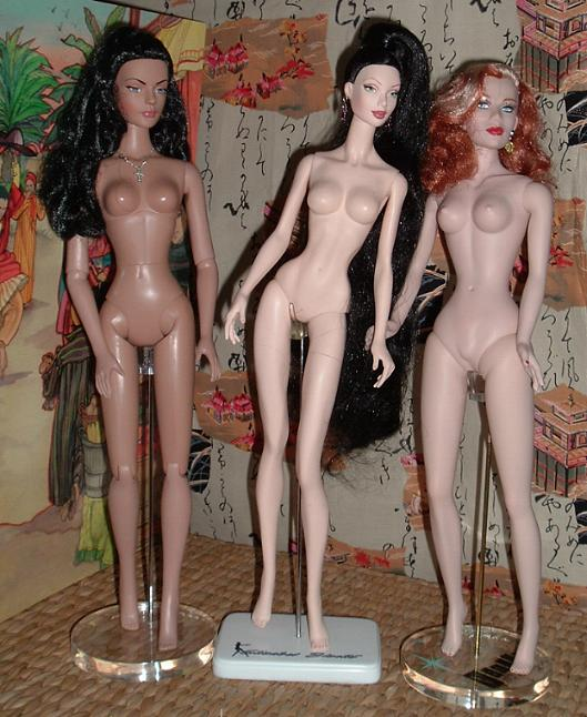 Comparaisons corps fashion dolls: images & liens Elizabetnude